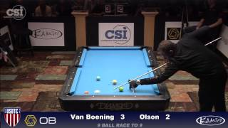 2015 USBTC 9-Ball: Shane Van Boening vs Danny Olson (Final!)