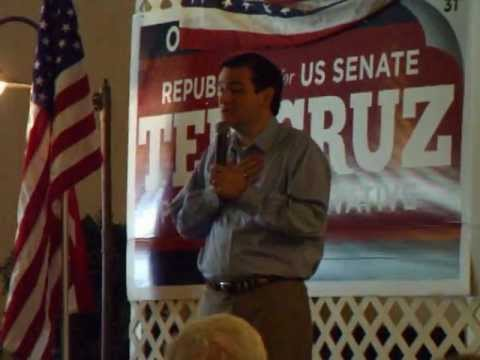 Ted Cruz at The Ranch of Lonesome Dove