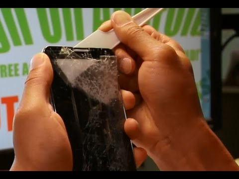 How to Separate Glass Only on Galaxy Note 3!