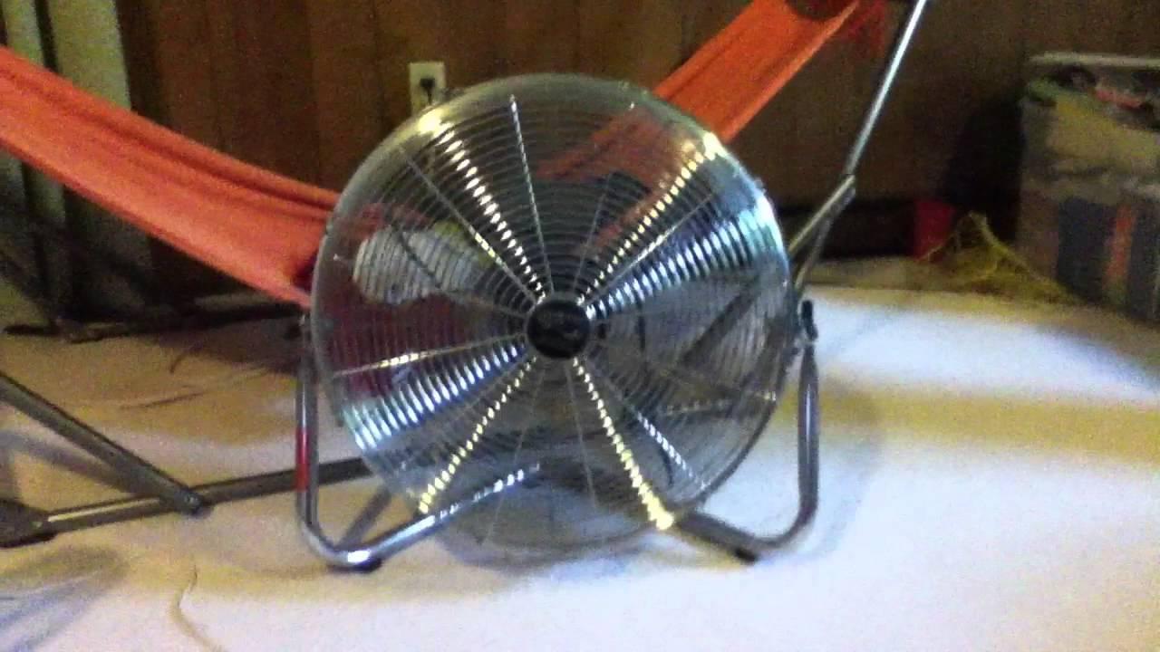 Hampton Bay Air Circulator : Quot hampton bay high velocity fan youtube