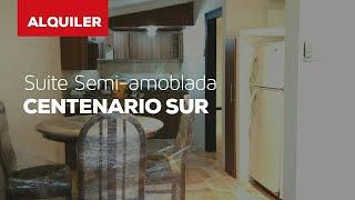 Alquiler - Suite Semi-amoblada en Centenario Sur #SuitesEquinoccial