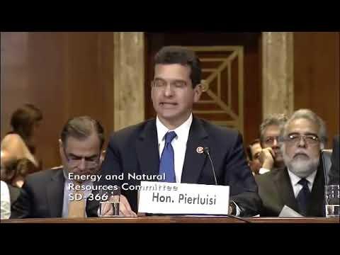 Vista comisión federal de Energía y Recursos Naturales sobre status de Puerto Rico