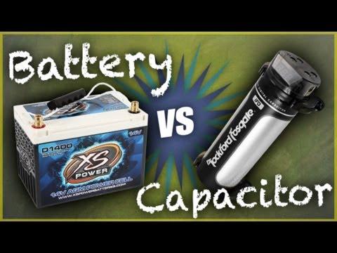 Car Batteries or Capacitors: Which Should I Install?   Car Audio Tips