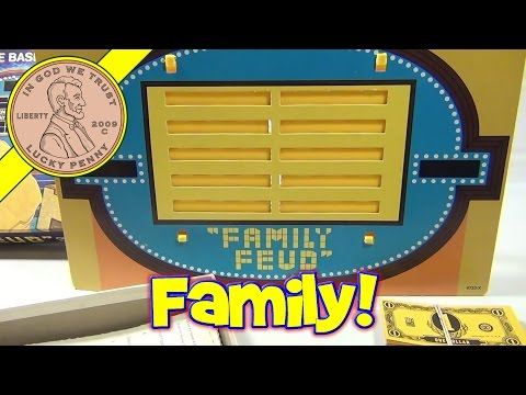 Family Feud Board Game #4723. 1977 Milton Bradley - Question Game Based on T.V. Show