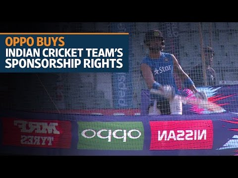 Oppo buys Indian cricket team's sponsorship rights for Rs1,079 crore