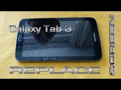 Samsung Galaxy Tab 3 Screen Replace (DIY)