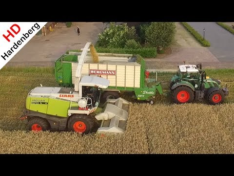 GPS hakselen | Claas Jaguar 870 + Direct Disc 520 | Whole Crop Silage | CWV Lievelde | 2017.