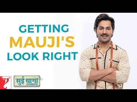 Getting Mauji's Look Right | Sui Dhaaga - Made in India | Varun Dhawan | Anushka Sharma