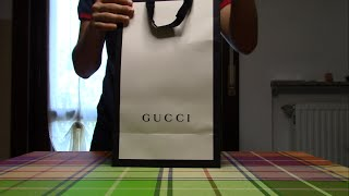 GUCCI UNBOXING (2016)