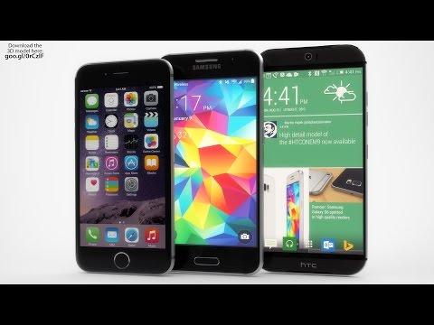 NEW Samsung Galaxy S6 vs. iPhone 6 vs. HTC One M9 Amazing Concept!