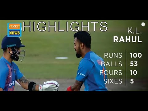 Kl Rahul Hits Super Century India vs England | 1st T20 Highlights 2018
