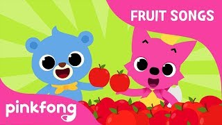 Munchy Crunchy Apple | Apple Song | Fruit Songs | Pinkfong Songs for Children