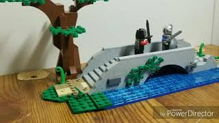 LEGO MEDIEVAL BRIDGE MOC