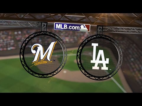8/17/14: Dodgers get swept by Brewers, led by Lucroy