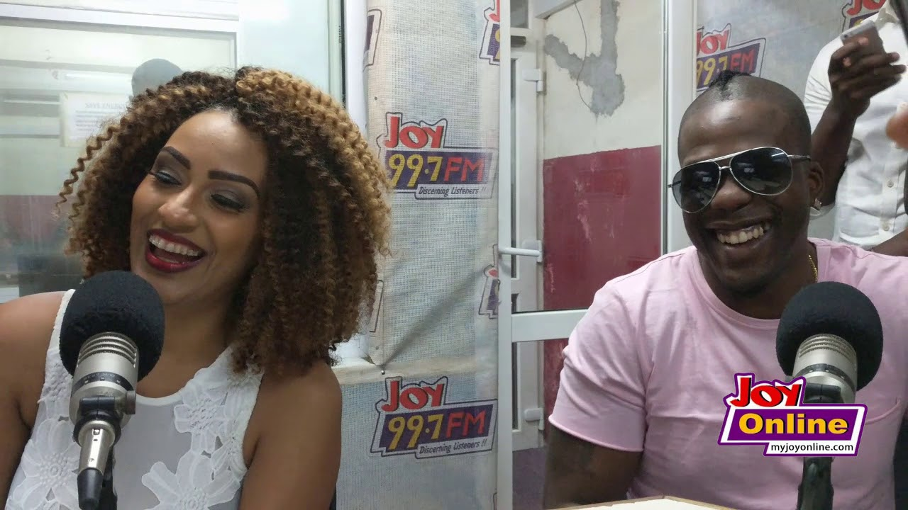 Juliet Ibrahim warns boyfriend Iceberg Slim not to break her heart or get dealt with by Ghanaians