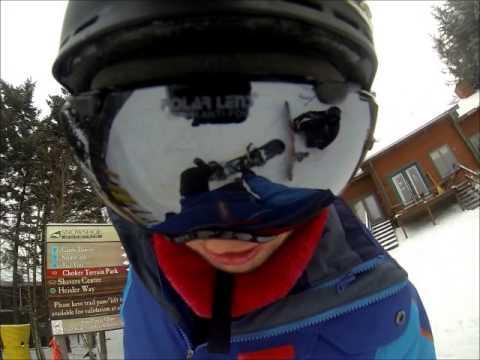 GoPro Snowshoe Snowboarding Trip