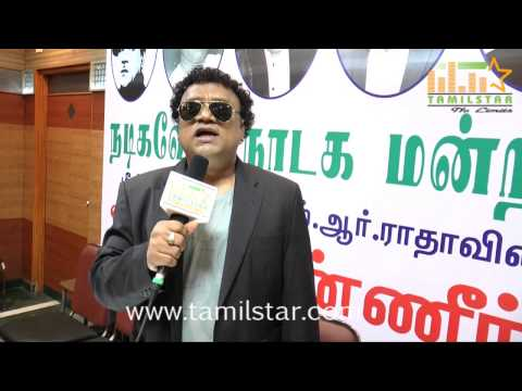 Sathish At Mr Ratha's Kanneer Stage Show Press Meet video