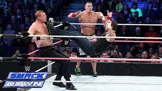 John Cena ආයේ එන්නෙ නැද්ද ?John Cena & Dean Ambrose vs. Randy Orton & Corporate Kane: SmackDown, Oct