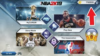 NBA 2k19 Android MOD Unlimited VC Tutorial