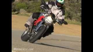 Ducati Monster 1100 Vs. Harley-Davidson XR1200 Motorcycle Review