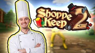 MISSÄ HITOSSA TÄÄLLÄ ON KOKKI?! - Shoppe Keep 2 #3