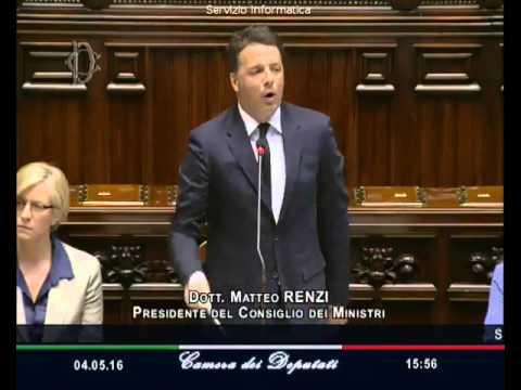 Matteo Renzi asfalta il #M5S alla Camera dei Deputati