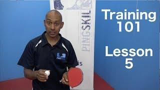 Training 101 | Forehand & Backhand Push | Table Tennis | PingSkills
