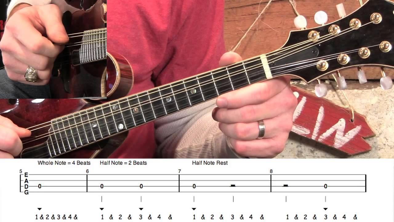 How to Read Mandolin Tabs! - YouTube