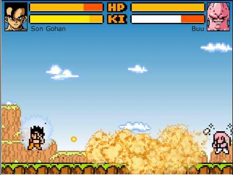 Son Gohan vs Buu (Dragon Ball Z Devolution)