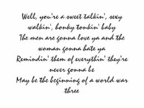 Travis Tritt~ T-R-O-U-B-L-E Lyrics Music Videos