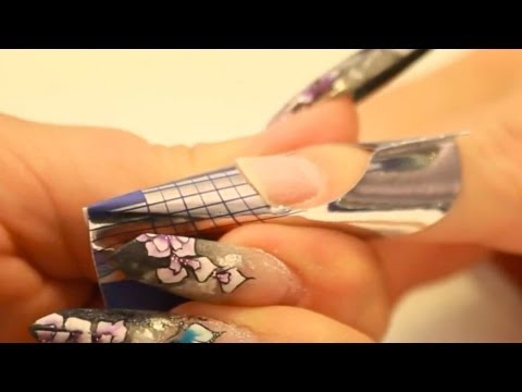 Edge Shaped Nails Tutorial