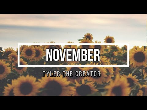 Tyler The Creator - November (Lyrics)