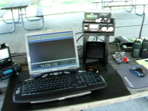 Yaesu 857D HF Portable Operations.avi
