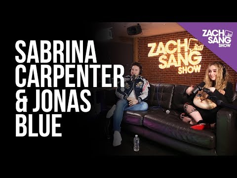 Sabrina Carpenter & Jonas Blue Talk Alien, Fast Car & Sabrina's Belly Button