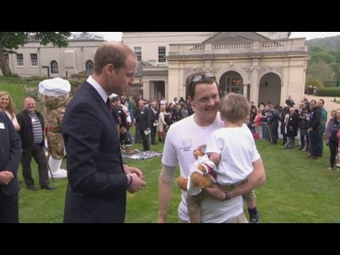 Prince William and Prince Harry open Help for Heroes Recovery Centre in Wiltshire