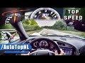 2017 Corvette Stingray C7 ACCELERATION & TOP SPEED AUTOBAHN POV By AutoTopNL