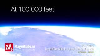 Magnitude Longfellow CanSat Video