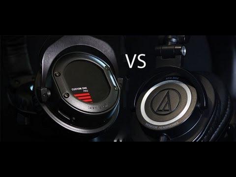Beyerdynamic Custom One Pro vs Audio Technica ATH M50