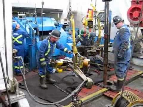 Canadian Drilling Rig The Worst Connection Ever Youtube