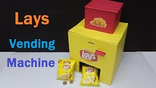 How to make Lays Chips Vending Machine