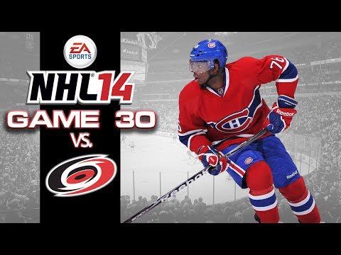 Let's Play NHL 14 - Game 30 vs Carolina Hurricanes