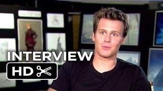 Frozen Interview - Jonathan Groff  (2013) - Idina Menzel Movie HD