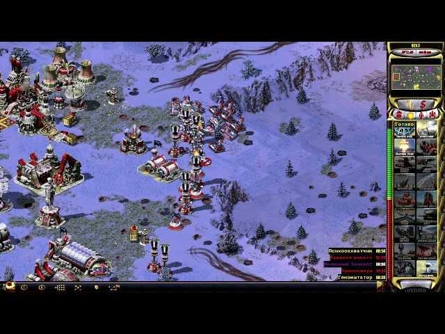 Руководство запуска Command & Conquer: Red Alert 2 по сети