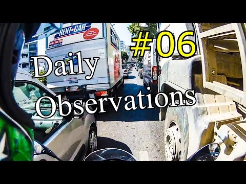Daily Observations #6 - Lane splitting in France (Monsieur Marty)