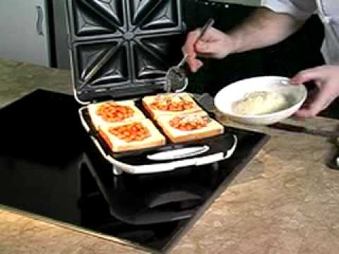Toasted Sandwich With Baked Beans Youtube
