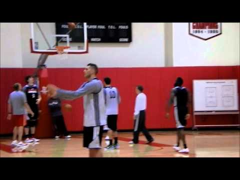 James Harden First Practice with Houston Rockets