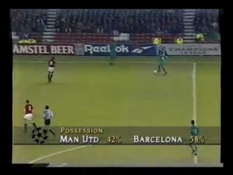 Manchester United 2 - 2 FC Barcelona - 1994 -  Full Match on Granada