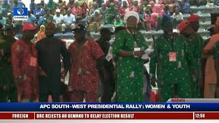 Women, Youths Take APC Presidential Rally To Ibadan Pt.2 |Live Event|