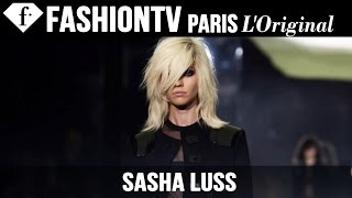 Model Sasha Luss | Beauty Trends for Spring/Summer 2015 | FashionTV