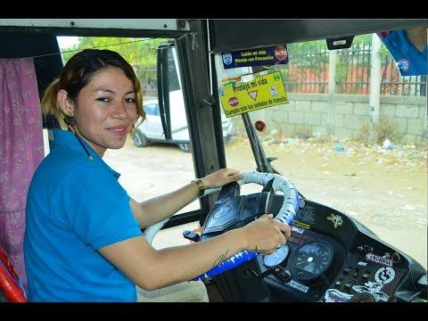 Ingrid González: La mujer busera de Managua